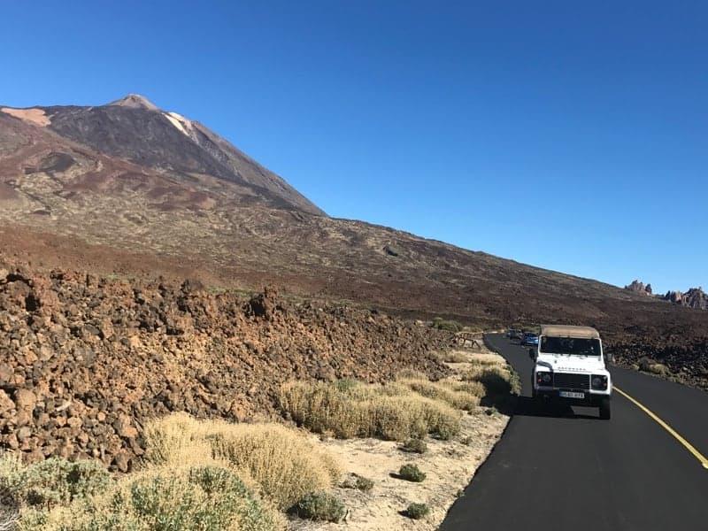 jeep tour teide
