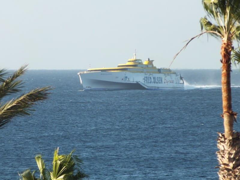 ferry Los Cristianos San Sebastian de la Gomera