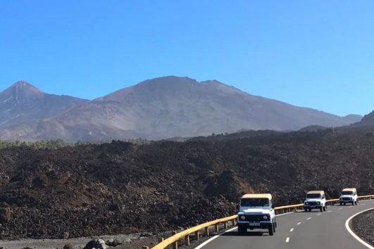 Jeep tour Teide Masca