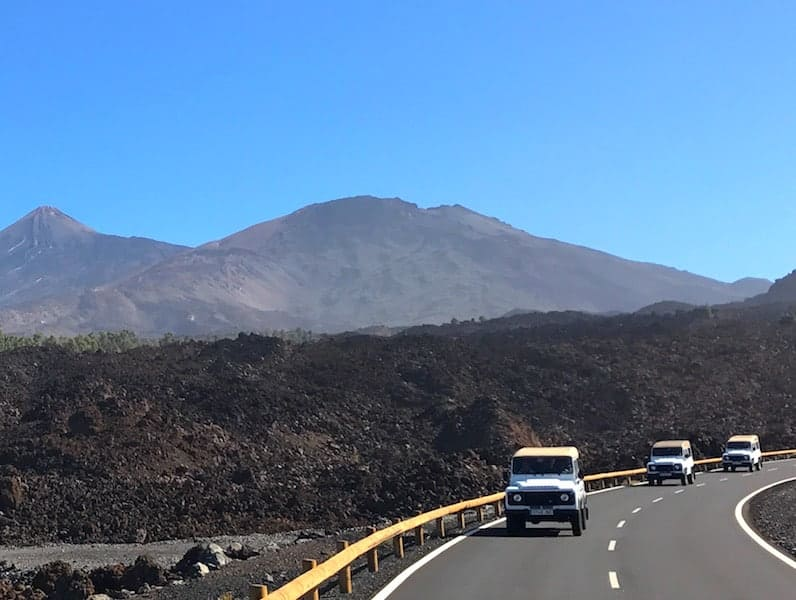 Jeep tour Teide Masca