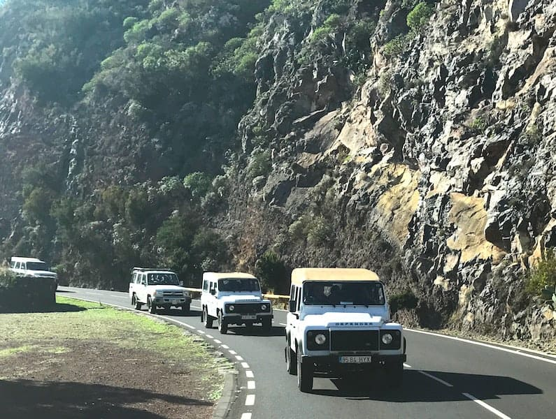 Jeep Tours in Tenerife