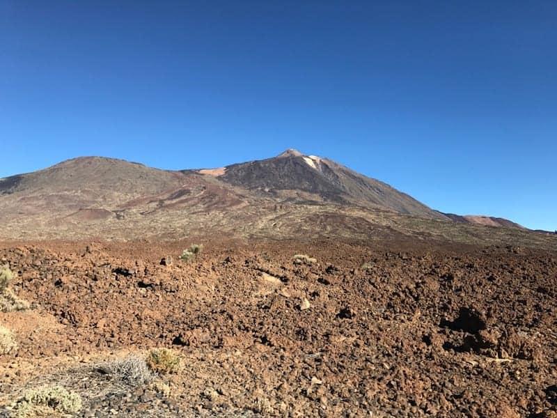 Teido Pico Viejo volcán