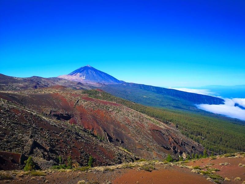 Teide Tenenife Valle de la Orotava