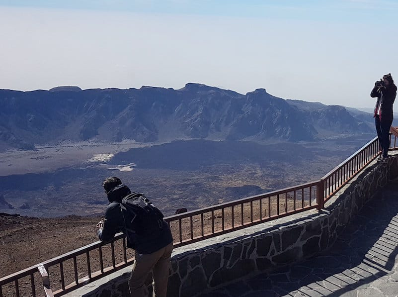 Teide top cable car