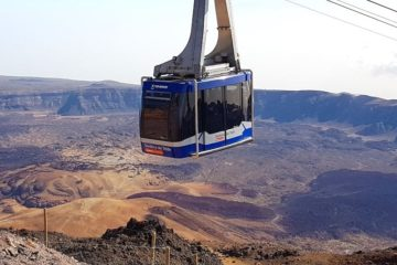 cable car - teleférico Teide